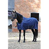 Bucas Irish Stable Extra 300g - navy/silver, Groesse:155