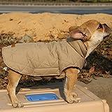 Generic Wasserdichten Reversiblen Hund Jacke Mantel Winter Warme Kleidung - Braun , XS