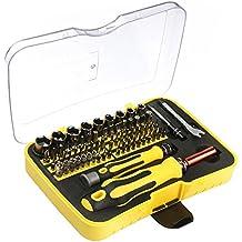 VOXON - Juego de destornilladores magnéticos profesionales XR de 71piezas, para la reparación de iPhone, iPad, Mac, tablets, portátiles y más…