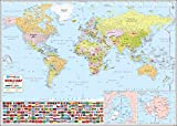 World Wall Map - 52