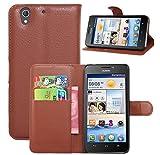 Prevoa ® 丨Huawei Ascend G630 Hülle - Flip PU Case