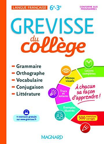 Français 6e-3e Grevisse du collège
