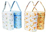 Universal Insulated Thermal Bag with Plastic Insert -- DOUBLE BAG -- Baby Bottle Warmer & Cooler -- Fits Most Bottles -- ANIMAL PATTERNS