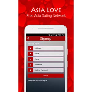 Dating in asia sign up