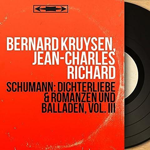Schumann: Dichterliebe & Romanzen und Balladen, Vol. III (Stereo