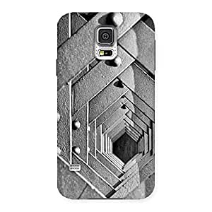 Impressive Cage Hexa Back Case Cover for Samsung Galaxy S5