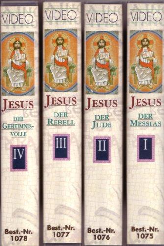 Preisvergleich Produktbild Jesus - Wer war dieser Mann - Teile 1-4 [4 VHS-Videos] Teil 1: Jesus, der Messias - Teil 2: Jesus, der Jude - Teil 3: Jesus, der Rebell - Teil 4: Jesus, der Geheimnisvolle [Eine BBC-Dokumentation]