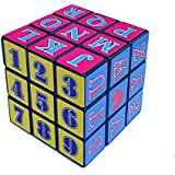 J GO High Stability 3x3x3 Speed Cube Alphabetic And Number Cube
