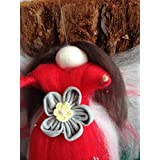 Blumen - Fee aus Märchenwolle Liebliches Geschenk für jedes Herz