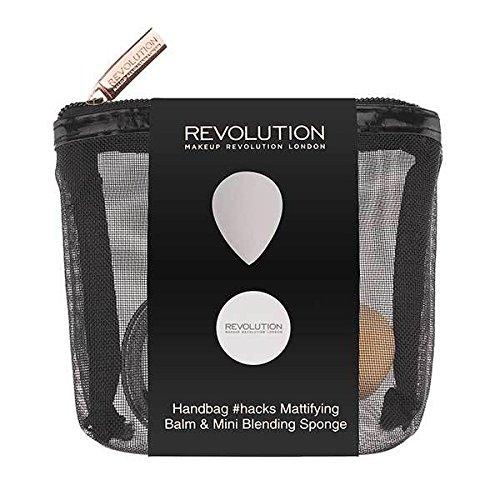 Make-up Revolution Handtasche Hacks matt Balm & Mini Mixer Geschenk-Set