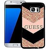 Guess CoqueCase for Galaxy S7 Edge, Brand Guess Samsung Galaxy S7 Edge Étui pour téléphone, Conception Samsung S7 Edge CoqueCase Guess Brand