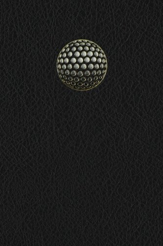 Monogram Golf Journal: Volume 57 (Monogram Black 365 Lined) por N.D. Author Services