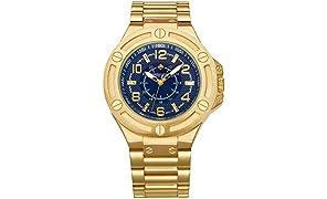Timothy Stone collection MANIS - reloj Hombres de cuartzo, color Oro
