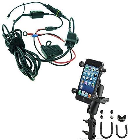 Haute Puissance Câble Attache en X Frein/Embrayage Boulon en U montage avec extension arm pour iPhone 7