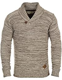 SOLID Miles Shawl - Pull en Maille - Homme