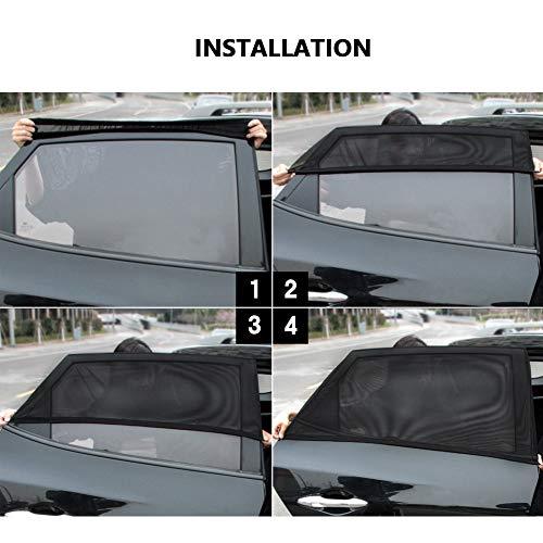Tendina Parasole Retrattile per finestrini Laterali Thboxes per Auto e Camion
