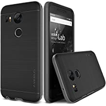 Nexus 5X Funda, VERUS High Pro Shield [Color Plata Oscuro] Steel Silver - Para LG Nexus 5X