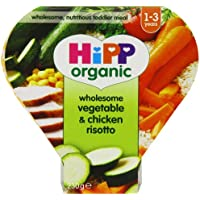 Hipp Organic Wholesome Vegetable and Chicken Risotto Tray Meal from 12 Months 230 g (Pack of 5) preiswert