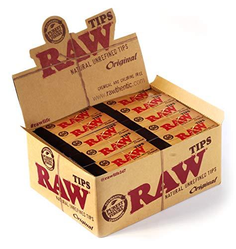 Raw Filtertips ungebleicht (50x50)
