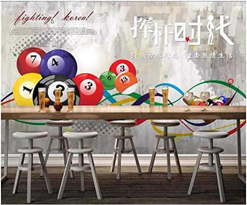 MIYCOLOR Fototapete mit benutzerdefinierten Motiven 3d Swing Pool Billiard Hall Billiard Room Wohnkultur Tapete mit 3D-Wandbildern für Wände 3 d-350x245 - Swing-erweiterung