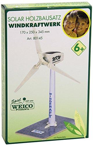 Weico 80145 Pale eoliche con Motore funzionante