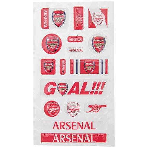 Arsenal Spaß Blase Aufkleber-Set-Mehrfarbig -