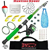 Best Fishing Tools - Fishing Rod,Reel Complete Kit (Beginners kit) Review