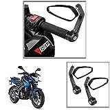 #9: Vheelocityin Motorcycle Bar End Mirror Rear View Mirror Edge For Bajaj Pulsar 200 Ns