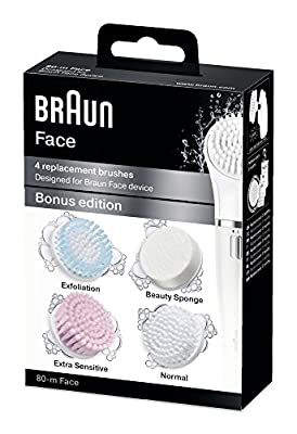 Braun SE80 Silk Epil Face Extra Multi-Pack Refills - Pack of 4