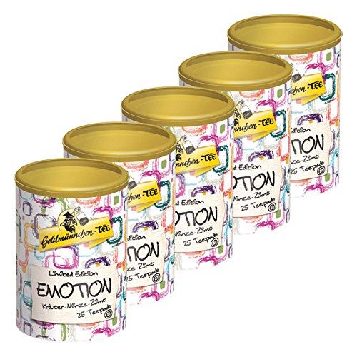 Goldmännchen Tee PUROMA Emotion / Kräuter Minze Zimt, Kräutertee, Teebeutel, Tee Pads, 125 Puroma-Beutel