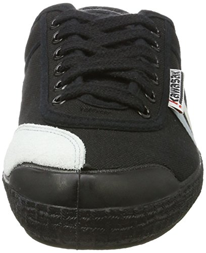Kawasaki Retro Basic, Sneaker Unisex – Adulto Schwarz (Black with Stripes)