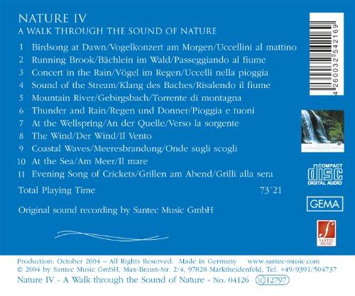 CD Pure nature (Nature IV): I più puri suoni della natura