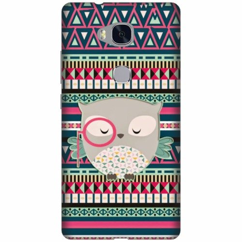 Printland Designer Back Cover For Huawei Honor 5X - Cartoon Face Cases Cover