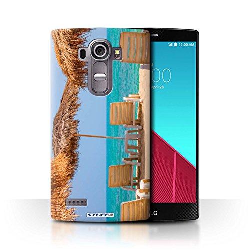 Stuff4® Hülle/Hülle für LG G4 Beat/H735 / Tiki/Strand Muster/Thailand Landschaft Kollektion