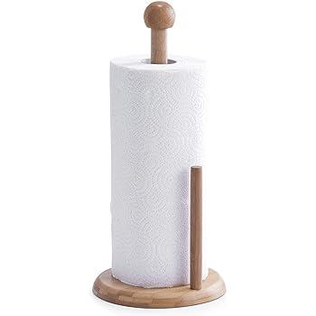 Relaxdays Kuchenrollenhalter Bambus 33 Cm Halter Fur Kuchenrolle Und