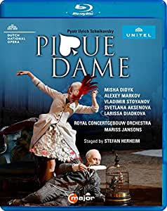 Tchaikovsky: Pique Dame [Misha Didyk; Alexey Markov; Vladimir Stoyanov; Chorus of Dutch National Opera; Royal Concertgebouw Orchestra; Mariss Jansons] [C Major Entertainment: 744004] [Edizione: Regno Unito]
