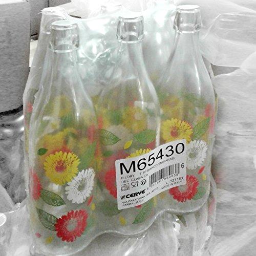 Set 6 pezzi Bottiglia Cerve Lory Clara