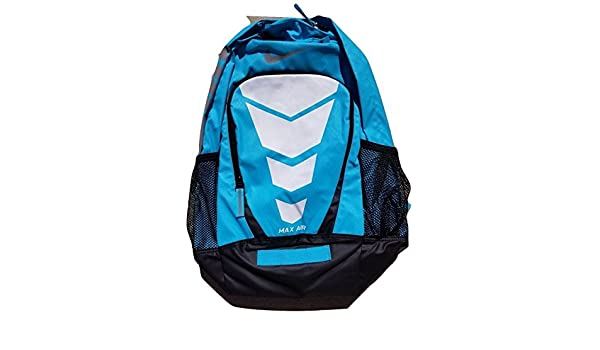 14ee2751f20a Nike Max Air Vapor Backpack Large Backpack Gamma Blue Black Metallic Silver  One Size  Amazon.co.uk  Clothing