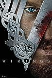 Empire Merchandising 687586 Vikings, Key Art, Wikinger de Serie de televisión de póster de Cartel de presión, de tamaño de 61 x 91,5 cm