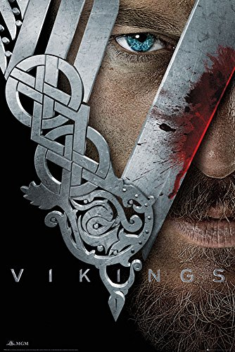 Empire, Poster di Vikings, Multicolore (Bunt), 61 x 91,5 cm