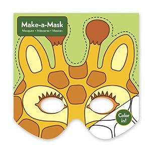 Mudpuppy - Haz tu careta de jungla, juego creativo (MPCA34502)