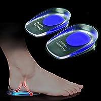 1 Paar Silikon stoßdämpfende Schuheinlagen zur Linderung von Schmerzen durch Fersensporn preisvergleich bei billige-tabletten.eu