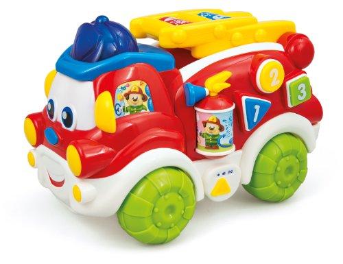 Clementoni–gilberto el camion pompiere habla rie con suoni mio 17–65486
