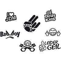 JDM Sticker Set 7 Teilig