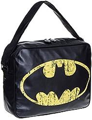 Mochila bandolera de Batman (Negro)
