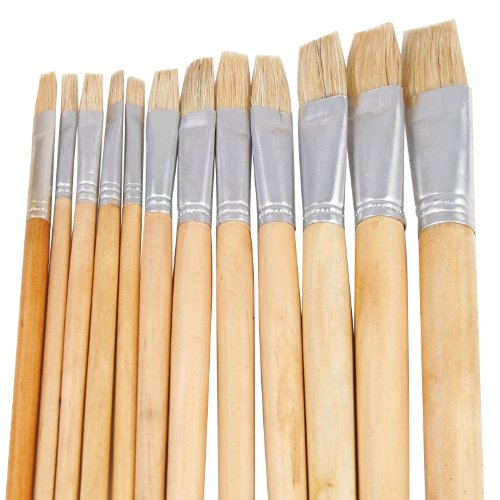 trixes-long-artists-paint-brushes-wooden-handles-12-packs-large-small-tip