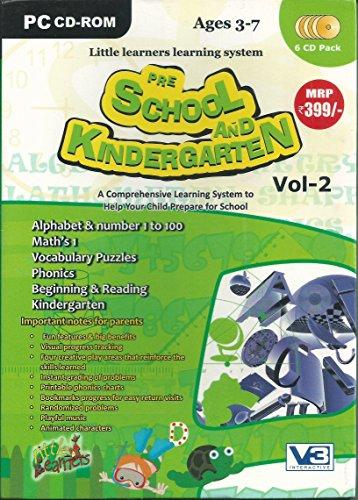 Pre School & Kindergarten (6 CD Pack)