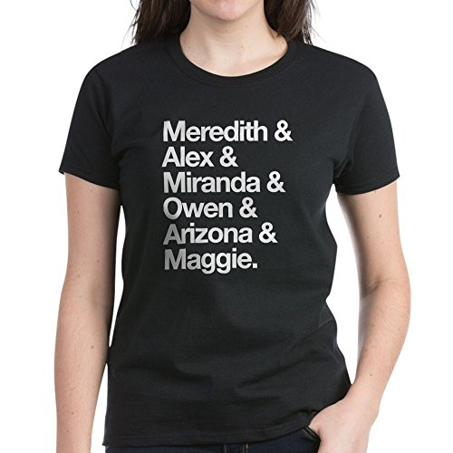 CafePress Grey's SGH Intern Women's Dark T-Shirt - Womens Cotton T-Shirt