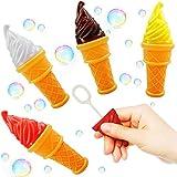 German Trendseller - 12 x Magische EIS - Seifenblasen ┃ NEU ┃ Party Bubbles für Kinder ┃ Mitgebsel ┃ Kindergeburtstag ┃ 12 Stück