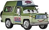 Disney Pixar Cars 3 Roscoe Fahrzeug aus dem Disney Pixar Cars 3 Film Die Cast Fahrrzeug mit Mini Poster